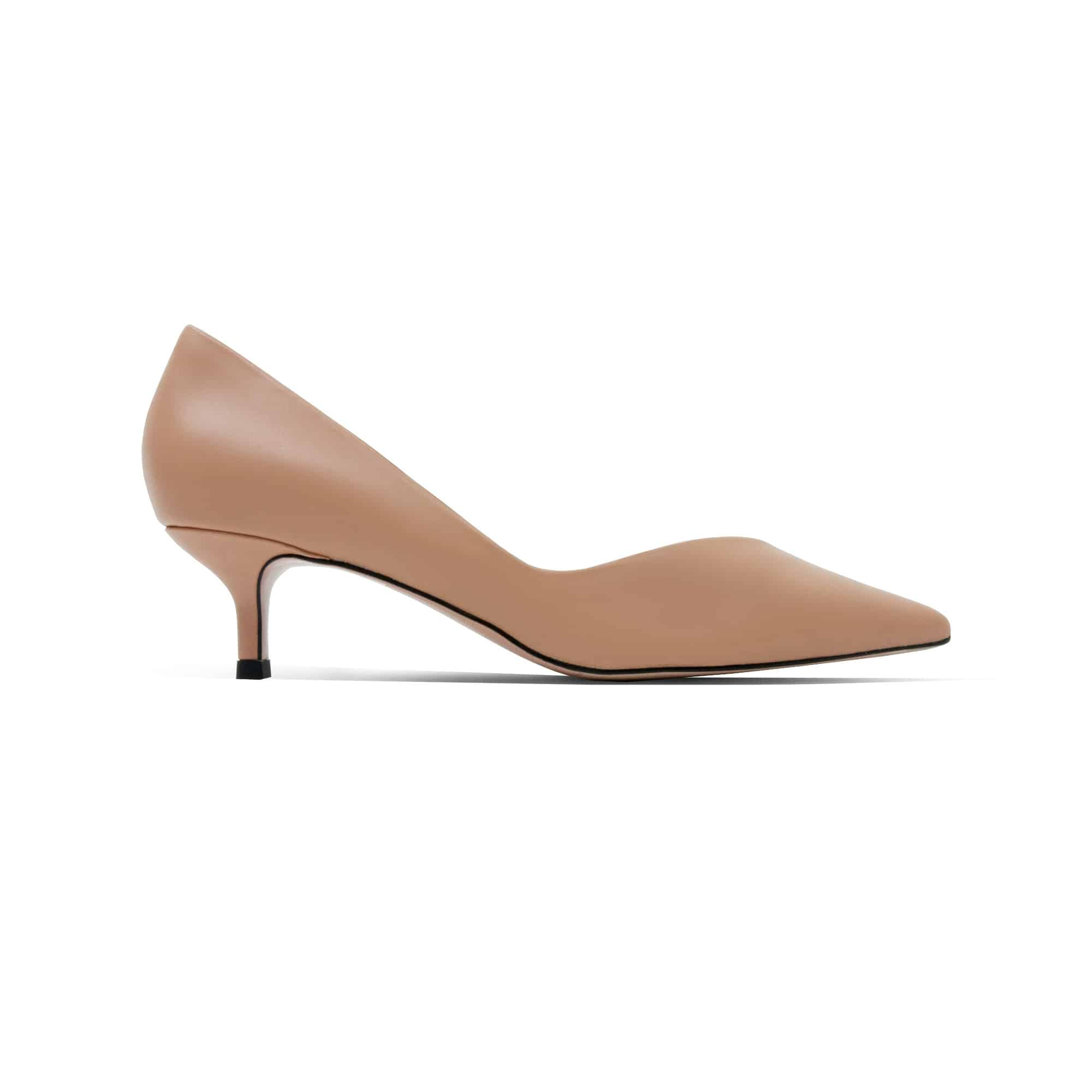 0f7144189ca Rachael Mid Heels (Nude / Lambskin). Soft Lambskin Court Pumps with 2 inch  heels, perfect for walking all day cut-free.